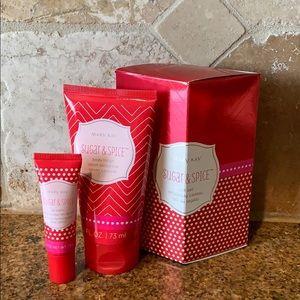 NWT Mary Kay Sugar and Spice Gift Set Lotion Lips